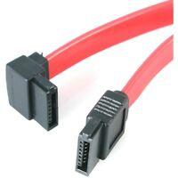 StarTech SATA12LA1 StarTech.com 12in SATA to Left Angle SATA Serial ATA Cable -