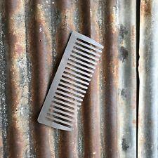 Signo de acero de gran exposición Peine de metal frontal de tienda casa Peluquería Tijeras de afeitar