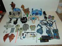 HUGE Star Wars Space Ship Vehicles Figures VINTAGE Set Lot * PERSONAL COLLECTION