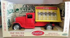 RARE 1930 bottling truck Coca-Cola CAMION bouteilles miniatures - GEARBOX 1:18