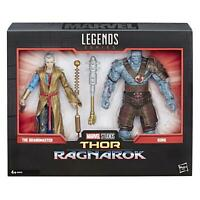 """Marvel Legends The Grandmaster And Korg 6"""" Action Figures 80th Anniversary"""
