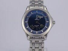 Vintage Swiss Omega Seamaster 120m Ana-Digital SS bracelet quartz diver watch