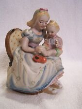 """Shafford China Mother & Child Figurine - Hand Painted 6"""" tall"""