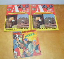Vintage A Team Unused Coloring Book & Story Book Lot 1984 80S Toys & Television