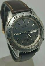 Seiko Silver Waver Z Ghost Quartz watch Mens 7546 605L Vintage Day date
