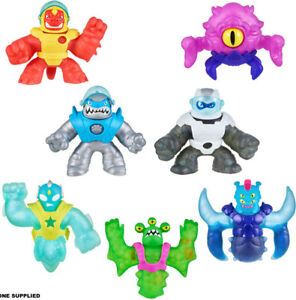 Heroes of Goo Jit Zu Galaxy Attack Stretchy Action Figures - Free P&P ✔