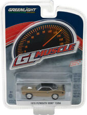 1:64 GL Muscle Series 19 1970 Plymouth Hemi Cuda Citron Gold