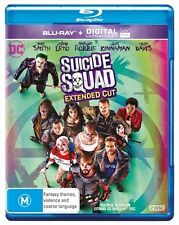 Suicide Squad : EXTENDED CUT : NEW Blu-Ray