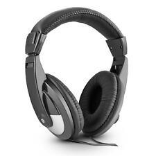 DJ Headphones casque arceau look luxe cuir pour set PA disco pro aimant néodyme