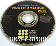 11 - 2011 Toyota Avalon Highlander Sienna Navigation DVD Disc Disk CD Map # U92