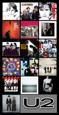 "U2 album discography magnet (4.5"" x 3.5"") songs of experience"