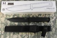 Fallkniven Forest Survival Knife CeraKote Black Custom VG10 Stainless Steel S1BZ
