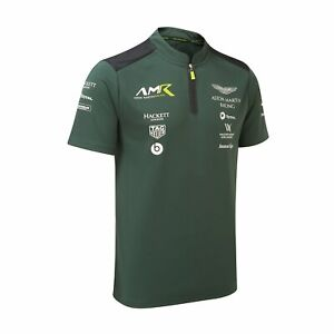 Aston Martin Racing Motorsports Team Mens Polo Shirt Green