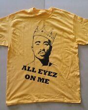 all eyez on me  (2 pac )  custom t-shirt graphic tee s-xL