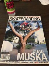 Transworld Skateboarding Magazine September 1999 Chad Muska Vallely 9/99 Sep