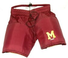 Cooper Burgundy Ice Hockey Roller Hockey Pants Shell No Belt (Size: Adult 34)