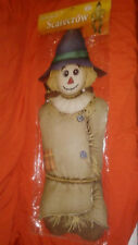 Beistle Jointed Scarecrow 5' Tall. PACKAGED OLD STOCK 2005 Halloween Decoration