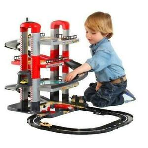 Kids Garage Parking Toy Car Station Play Set Fun New Baby Children Cars Toys