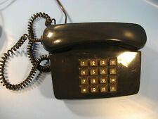 Telephon 1980.Jahre große Drucktastatur in blau Bundespost 0164 mit Funktion