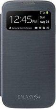 Genuine Samsung S-View Case for Galaxy S4-Black- UK Stock- 100% Original