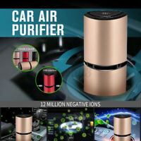 Micro USB Port Car Air Negative Ion Ionizer Oxygen Generator Clean Air Purifier