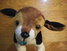 "Nintendogs Beagle Puppy Dog 12"" Interactive Plush Toy Stuffed Animal - Ship4Free"