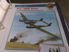 Faszination 10 18 Focke Wulf Fw 189 Uhu Schlachtflugzeug Artilleriebeobachter