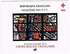 Frankrijk booklet postfris 1981 MHN 2295-2296 - Rode Kruis / Red Cross (K034)
