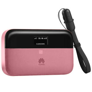 UNLOCKED Pink Huawei E5885 Pro2 4G LTE FDD/TDD 300Mbps Mobile WiFi Mobile Router