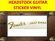 FENDE JAZZ FOR BASS GOLD HEADSTOCK STICKER VISIT OUR STORE WITH MANY MORE MODELS