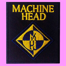 Machine Head Music Rock Band Logo Heavy Thrash Metal Iron On Embroidered Patch