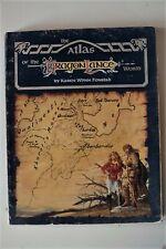AD&D : Atlas of the DragonLance world - TSR Lance Dragon - Anglais