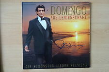 "Placido Domingo Autogramm signed LP-Cover ""Aus Leidenschaft"" Vinyl"