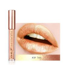 Focallure glimmer - metallic- Matte Lipstick - #39 Tan Gold - Fast Shipping!