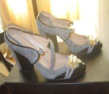 CELYN B Scarpe Shoes Luxus Pumps Schue Decollete' Escarpines grigio catene N 36