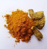 100% Pure Genuine Herbs Kasturi Manjal Amba Haldi White Turmeric Root Powder