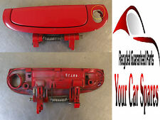 Kia Picanto - 5Dr - Driver Side Front Exterior Door Handle - Red P9