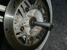 1993 Kawasaki 500 ex 500EX WHITE FRONT WHEEL, disc brake, axle bolt