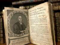 1753 SACRED HISTORY AND DOCTRINE OF THE NEW TESTAMENT in Question and Answer