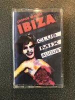 House Ibiza Mix Tape August 1996 Mixed By Ibiza DJ Sergio Classic Tunes