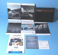 ford focus owners manual  navigationsync ebay