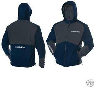 SHIMANO FLEECE HOODED JACKET MAGELLAN   NVY