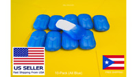 200 Super Paper Soap Sheets Portable Travel Hand Washing 10-Pack Blue Soluble