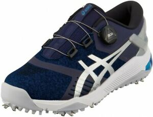 ASICS Golf Men's Shoes GEL-COURSE DUO BOA 001 WIDE 1111A073 Navy With Tracking