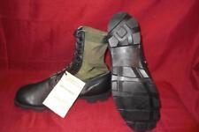 Military 13.5 XW Green Jungle Combat Boots USGI Men Boys Vietnam Vintage #433