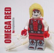 LEGO Custom - Omega Red - Marvel Superheroes iron man spiderman wolverine