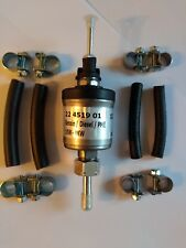 Eberspacher D2 D4 12 Volt Fuel Pump And joining rubbers with eight clamps