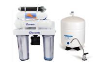 Reverse Osmosis Dual Use Drinking/Aquarium DI 75GPD Filter System Permeate Pump
