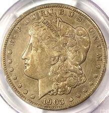"1903-S Morgan Silver Dollar $1 Small Micro ""S"" VAM-2 - PCGS VF35 - $1,100 Value"