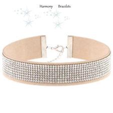 Tan Swarovski Elements Choker by Harmony Bracelets
